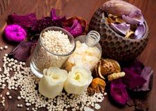 aromatherapy άλας λουτρών Στοκ εικόνες με δικαίωμα ελεύθερης χρήσης