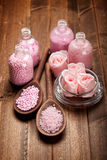 aromatherapy άλας λουτρών Στοκ Εικόνα