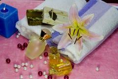 aromatherapy έννοια Στοκ Φωτογραφία