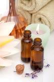 aromatherapy αντικείμενα Στοκ εικόνα με δικαίωμα ελεύθερης χρήσης