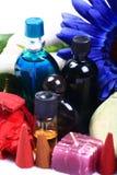 aromatherapy αντικείμενα Στοκ φωτογραφία με δικαίωμα ελεύθερης χρήσης