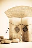 aromatherapy Ασιάτης όρισε Στοκ Εικόνες