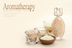 aromatherapy βανίλια Στοκ Εικόνα