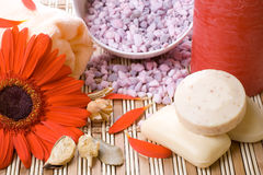 aromatherapy επεξεργασία ομορφιά&sigmaf Στοκ Φωτογραφία