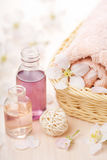 aromatherapy καθορισμένη SPA Στοκ Φωτογραφίες