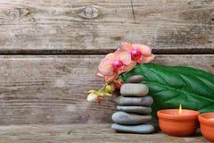 aromatherapy καθορισμένη SPA Στοκ φωτογραφία με δικαίωμα ελεύθερης χρήσης