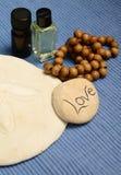 Aromatherapy και αγάπη Στοκ Φωτογραφία