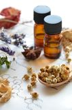 Aromatherapy και επιστήμη Στοκ Φωτογραφία