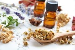 Aromatherapy και επιστήμη Στοκ εικόνα με δικαίωμα ελεύθερης χρήσης