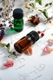 Aromatherapy και επιστήμη Στοκ Εικόνες