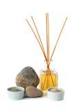 Aromatherapy και καλλυντικός άργιλος Στοκ φωτογραφία με δικαίωμα ελεύθερης χρήσης