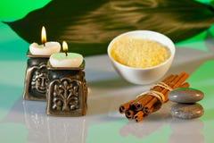 Aromatherapy και σύνθεση SPA Στοκ Εικόνες