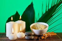 Aromatherapy και σύνθεση SPA Στοκ Φωτογραφίες