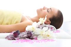 aromatherapy μασάζ Στοκ φωτογραφία με δικαίωμα ελεύθερης χρήσης