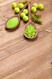 aromatherapy ορυκτό άλας λουτρών Στοκ Εικόνες