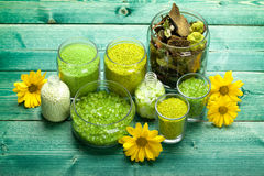 aromatherapy ορυκτό άλας προσοχής &sigma Στοκ φωτογραφίες με δικαίωμα ελεύθερης χρήσης