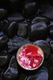 aromatherapy πέταλα Στοκ εικόνα με δικαίωμα ελεύθερης χρήσης