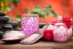 aromatherapy πέτρες μεταλλευμάτων Στοκ Φωτογραφία