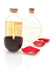 aromatherapy πετρέλαια κεριών Στοκ φωτογραφία με δικαίωμα ελεύθερης χρήσης