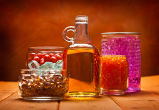 aromatherapy πετρέλαια Στοκ Εικόνα