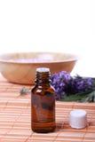 aromatherapy πετρέλαιο Στοκ Φωτογραφία