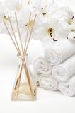 aromatherapy πετσέτες διαχυτών Στοκ Φωτογραφία
