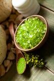 aromatherapy πράσινα μεταλλεύματα Στοκ Εικόνα