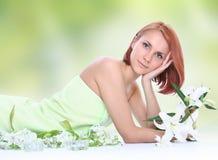 aromatherapy πράσινος Στοκ Εικόνα