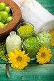 aromatherapy προμήθειες SPA Στοκ Φωτογραφίες