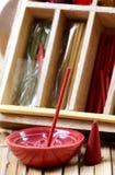 aromatherapy ραβδί λάσπης κώνων Στοκ εικόνες με δικαίωμα ελεύθερης χρήσης