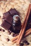 aromatherapy σοκολάτα Στοκ Φωτογραφία