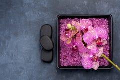 Aromatherapy σύνολο SPA Στοκ εικόνα με δικαίωμα ελεύθερης χρήσης
