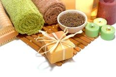aromatherapy φυσικά προϊόντα soap spa υγιε&iot Στοκ φωτογραφία με δικαίωμα ελεύθερης χρήσης