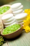 aromatherapy χαλάρωση μεταλλευμάτ&o Στοκ φωτογραφία με δικαίωμα ελεύθερης χρήσης