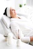 Aromatherapy, χαλάρωση στο σαλόνι SPA Στοκ Φωτογραφίες