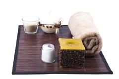 aromatherapy όμορφη καθορισμένη SPA Στοκ Φωτογραφία
