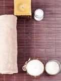 aromatherapy όμορφη καθορισμένη SPA Στοκ φωτογραφίες με δικαίωμα ελεύθερης χρήσης