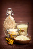 aromatherapy ваниль минералов Стоковое Изображение RF