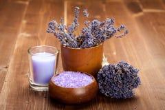 aromatherapy обработка спы лаванды Стоковое Фото