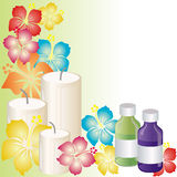 Aromatherapy stock illustratie