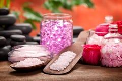 aromatherapy камни минералов стоковые фотографии rf