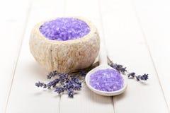 aromatherapy обработка лаванды стоковые фото