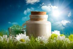 aromatherapy природа минералов предпосылки стоковые фотографии rf