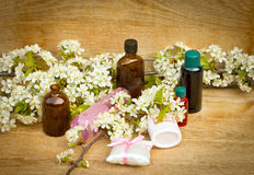 aromatherapy 图库摄影