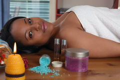 Aromatherapy Stock Photo
