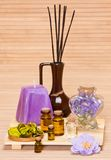 Aromatherapy accessories Stock Photos