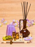 Aromatherapy accessories Stock Photography
