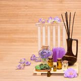 Aromatherapy accessories Royalty Free Stock Photo
