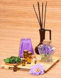 Aromatherapy accessories Royalty Free Stock Image
