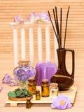 Aromatherapy akcesoria Zdjęcie Royalty Free